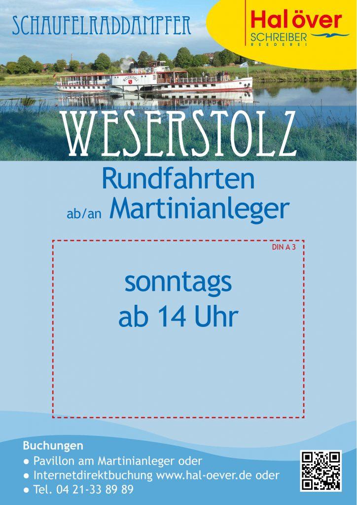 Schild Weserstolz