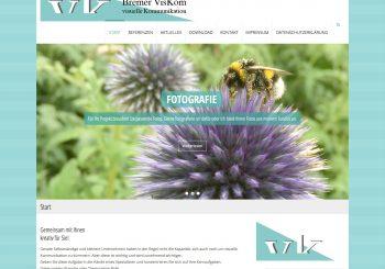 VisKom-Startseite-Screenshot