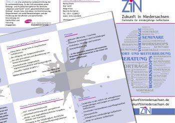 Faltblatt ZiN Zukunft in Niedersachsen
